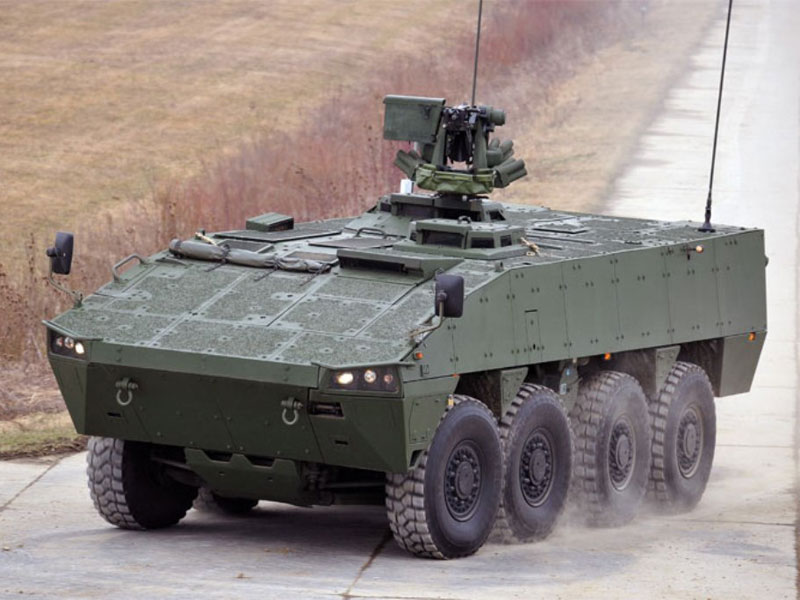 Patria, Kongsberg to Pursue Combat Vehicle & Weapon System Program in Middle East