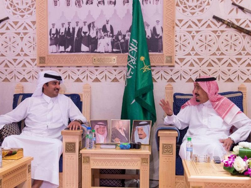 Qatar's Emir, Egypt's Defense Minister Visit Saudi Arabia