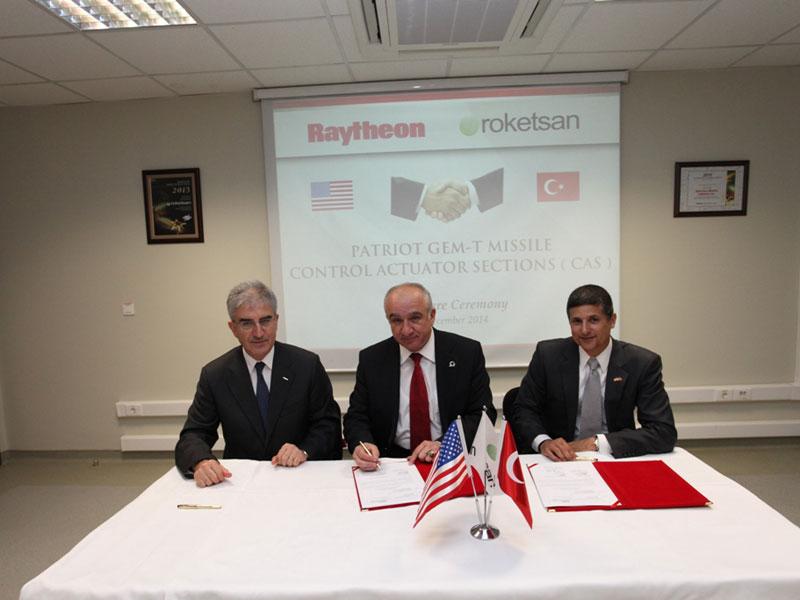 Roketsan to Produce Patriot Control Section Assemblies