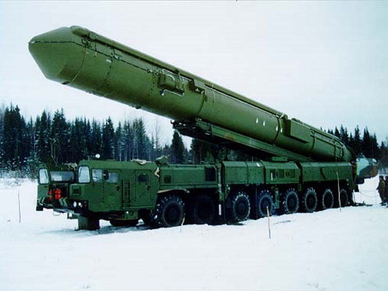 Russia Places 8 Intercontinental Ballistic Missiles in Service