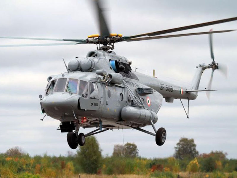 Russian Helicopters at Aero India 2015