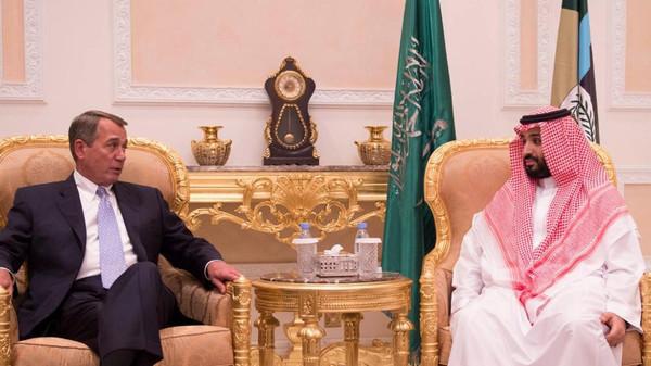 Saudi Defense Minister Receives U.S. House Speaker