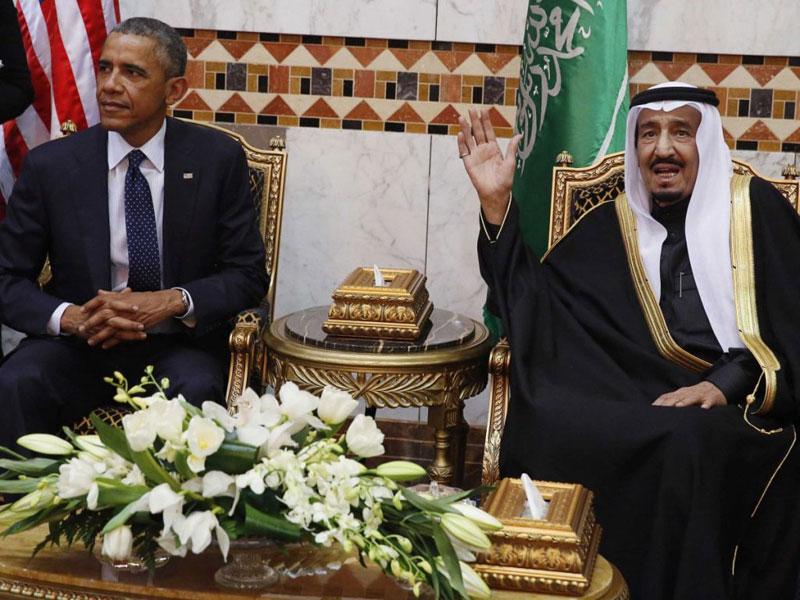 Saudi King, US President Hold Key Talks