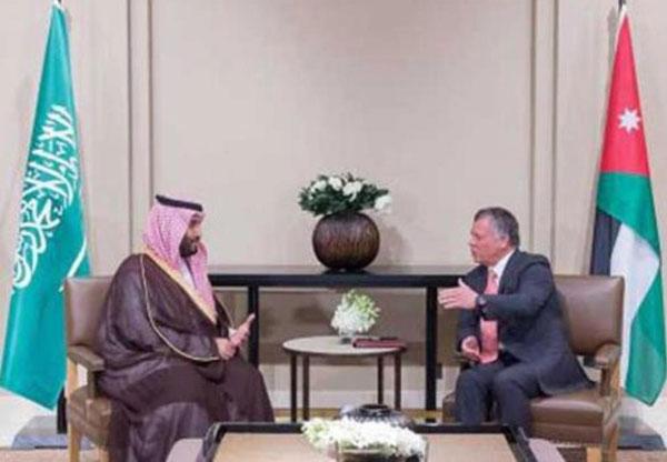 Saudi Minister of Defense Concludes Visit to Jordan