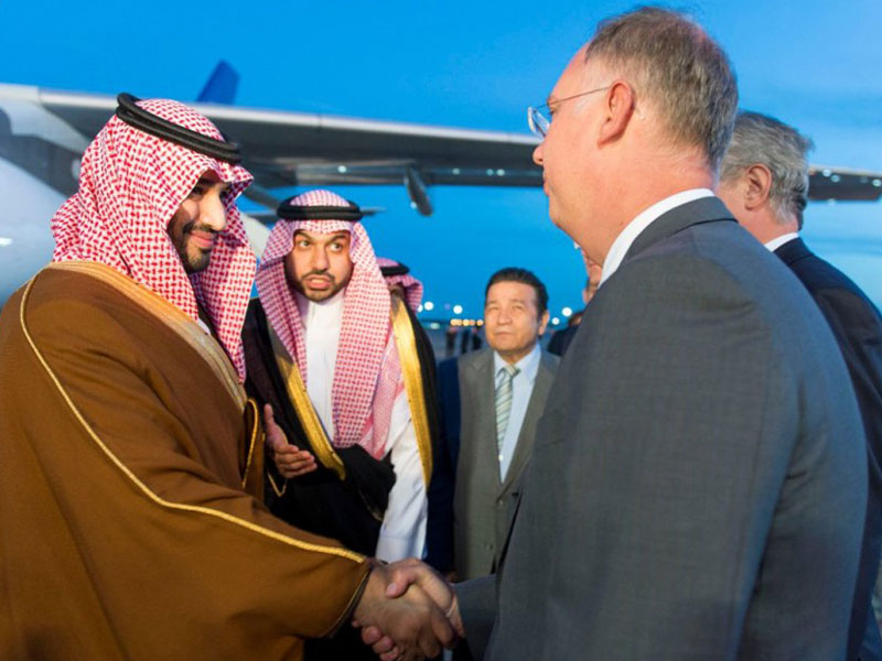 Saudi Minister of Defense Visits Russia