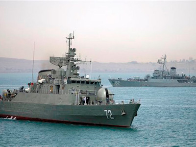 """US Official: """"Iranian Ships Turn Back from Yemen"""""""