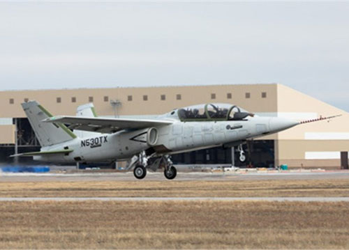 First Production Conforming Scorpion Jet Completes Maiden Flight