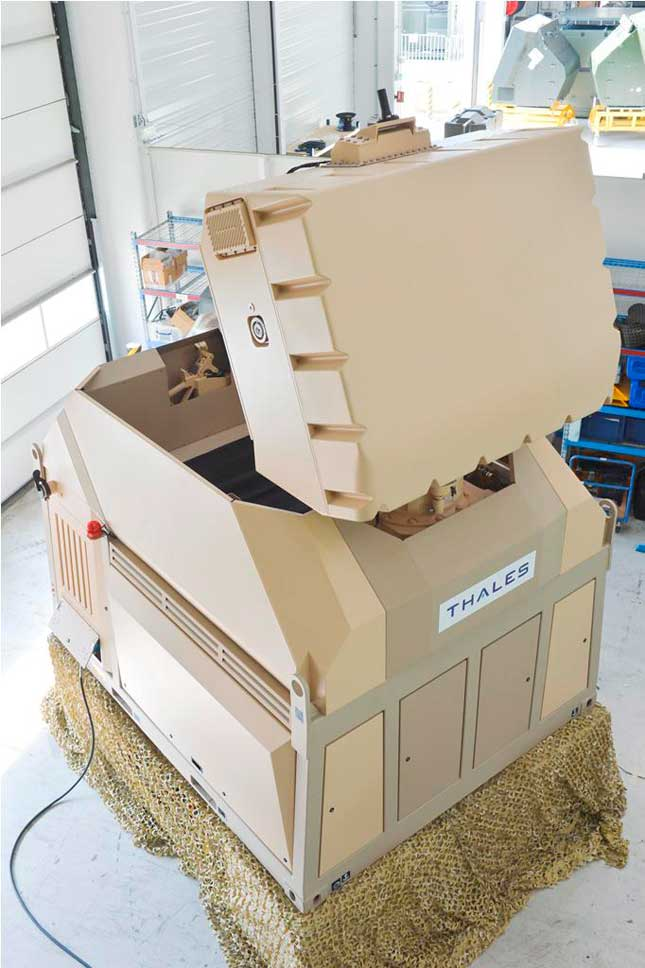 Thales Launches Ultra-Tactical Version of Ground Master 60