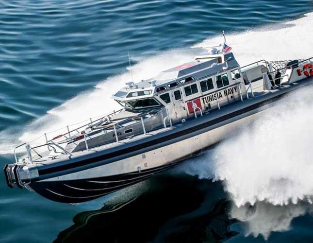 Tunisian Navy Patrol Boat