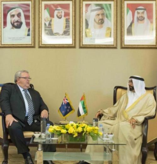 New Zealand Defense Minister Visits UAE