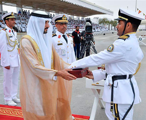 Dubai Crown Prince Attends 17th Graduation of Naval College