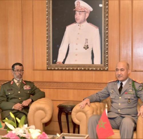 UAE Chief-of-Staff Visits Morocco, Kuwait