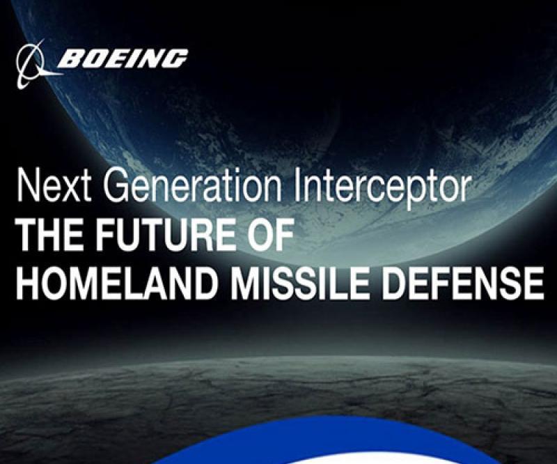 Boeing Submits Next-Gen Interceptor Proposal to U.S. Missile Defense Agency
