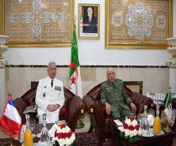 Algerian Chief of Staff Receives French Counterpart