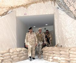 Bahrain's Commander-in-Chief, Chief-of-Staff Inspect 'Shield of the Nation' Drill