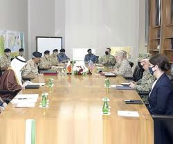 Bahrain's Commander-in-Chief Receives US Military Delegation