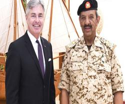 Bahrain's Commander-in-Chief Receives US Secretary of Navy