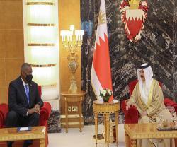 Bahrain's King, Crown Prince Receive US Defense Secretary