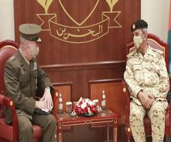 Bahrain Crown Prince, Defense Chief Receive Commander of US Central Command