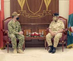 Bahrain Welcomes Newly-Appointed US 5th Fleet Commander & British Defense Attaché