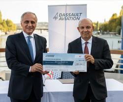 Dassault Aviation, Nawraj Hand Over Medical Equipment to Lebanon