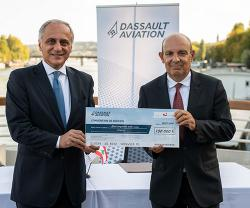 Dassault Aviation Stands by Lebanon