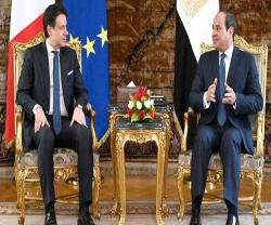 Egypt, Italy Discuss Economic, Military Cooperation