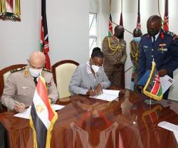 Egypt, Kenya Sign Defense Cooperation Agreement