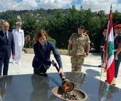 French Defense Minister Concludes 3-Day Visit to Lebanon