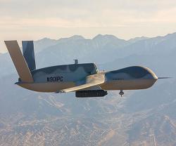 GA-ASI Integrates Lockheed Martin's Legion Pod onto Avenger RPA