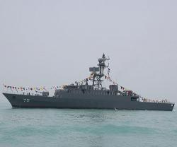 Iran Launches New Destroyer, Minesweeper Warship