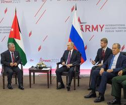 Jordanian King, Saudi Deputy Minister of Defense Attend ARMY-2021 Forum
