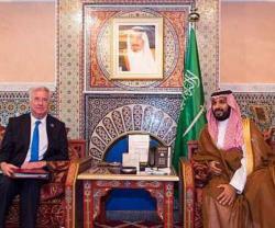 Saudi Defense Minister Meets US, French, British Counterparts