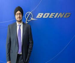 Kuljit Ghata-Aura Named President for Boeing Middle East, Turkey & Africa