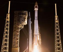 Lockheed Martin-Built SBIRS Satellite Sends First Images