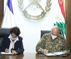 Lebanon, France Sign 3 Military Cooperation Projects