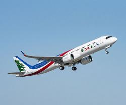Middle East Airlines (MEA) Receives its First A321neo