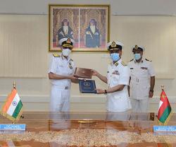 Oman's Maritime Security Center, Indian Navy Sign MoU