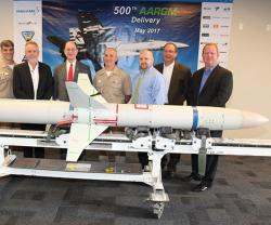 Orbital ATK Delivers 500th AARGM to US Navy