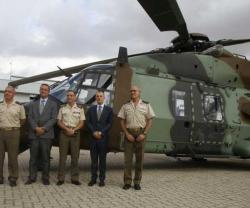 Airbus Helicopters Delivers First 2 NH90s to Spanish Army