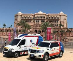Abu Dhabi Police Deploys 50 Ambulance Stations for Rapid Response