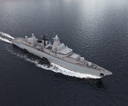 Saab to Modernize German Navy's F123 Frigates