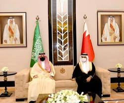 Saudi-Bahraini Interior Ministers Co-Chair First Meeting of Security & Military Committee