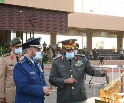 Saudi Chief of General Staff Patronizes Graduation Ceremony at King Abdullah Air Defense College