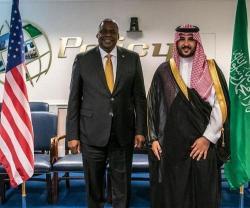 Saudi Deputy Minister of Defense Meets Top U.S. Defense Officials