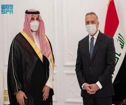 Saudi Deputy Minister of Defense Visits Iraq
