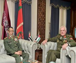 UAE, Jordanian Chiefs of Staff Discuss Military Cooperation
