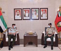 UAE Ministry of Defense Receives Jordanian Armed Forces Delegation