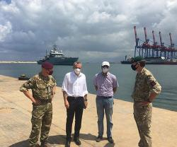 UK's Defense Senior Adviser Visits Beirut