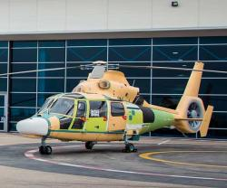 Indonesia Receives First 3 AS565 MBe Panther Helicopters